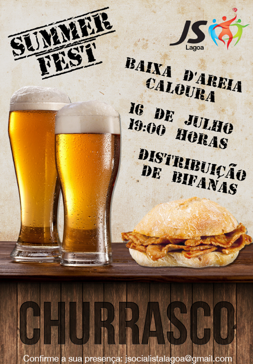 Summer Fest JS Lagoa Churrasco